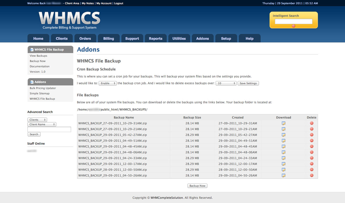 whmcs generate valid license key